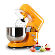 Bella Orangina Kitchen Machine Stand Mixer 1200W 5 Litre Orange Orange