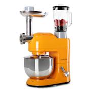 Lucia Orangina, Robot kuchenny maszynka do mięsa,mikser, 1200W, 1,7 PS Pomarańczowy