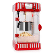 Volcano 300W Movie Night Popcorn Machine Stainless Steel Red