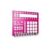 MASCHINE CUSTOM KIT Faceplates Pink