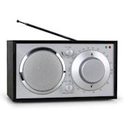 1960s Retro Style FM Kitchen Radio AUX Black