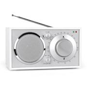 Lausanne Nostalgic FM Radio AUX White