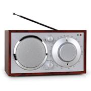 1960s Retro Style FM Kitchen Radio AUX Cherry