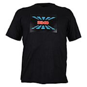 T-Shirt LED 3-kleuren Disco Design maat L