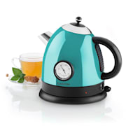 Aquavita Kettle 1.5L 2200w Stainless Steel Blue Blue