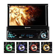 MVD-220 Autoradio DVD CD MP3 USB SD AUX 7'' Touchscreen Bluetooth MVD-220