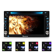 MVD-480 Moniceiver DVD CD MP3 USB SD HD 6,2' Touchscree