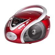 CMP-542 Ghettoblaster Rot USB CD MP3 Rot