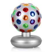 Disco Ball, 7 W, světelný efekt, stříbrný