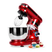 Serena Rossa Stand Mixer 600W 4-Piece Red Red