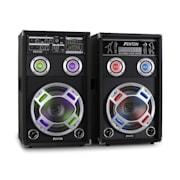 "Skytec KA-10 Karaoke PA Speakers Set 800W USB SD 25 cm (10"")"