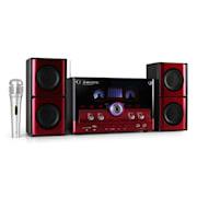 AH 2340K, 2.1 sistem de sunet,USB,SD, culoare roșie