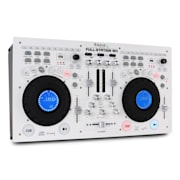 Full-Station DJ-setti tupla-CD-soitin scratch mix. USB