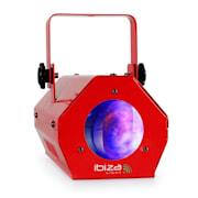 LCM003LED, moonflower, RGBW, zenés vezérlés, piros