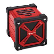TRK-861, bluetooth reproduktor, batéria, červený