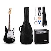 RC200 E-Gitarren-Set Stratocaster-Style schwarz