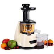 Klarstein Fruitpresso počasni sokovnik 150 W 70 RPM Krem
