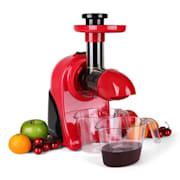 Fruitpresso Rosso Entsafter Saftpresse Slow Juicer 150W 80 U/min rot Rot