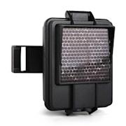 IR-Booster Infrarot-Blitzgerät für Wildkameras schwarz Schwarz
