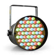 PAR36 SPOT, 8W, reflector, 55 x 10mm LED RGB DMX