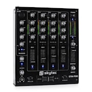 STM-7010 Table de mixage DJ 4 canaux USB MP3 EQ