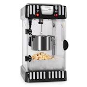 Klarstein Volcano popcorn készítő gép, 300 W, keverő, rozsdamentes acél fazék Fekete