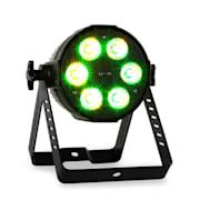 PARLED1820IR LED svetelný efekt, 18x18 W, RGBAWUV