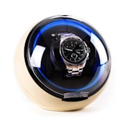 Klarstein St.Gallen Deux Watch Winder 4 moduri de LED-uri crem Crem