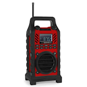 862-BTB-RD Construction Site Speaker Battery MP3 USB SD Bluetooth