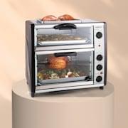 All-You-Can-Eat Doppel-Backofen Grillplatte 42 Liter 2350 Watt