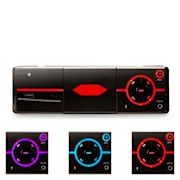 MD - 640 Bluetooth Car Radio App iOS de control SD USB
