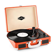 Peggy Sue retro-levysoitin LP USB - oranssi oranssi
