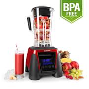 Klarstein Herakles-8G-R, 1800 W, 2 liter, asztali mixer, piros, smoothie, BPA nélkül Piros