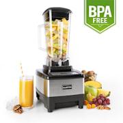 Klarstein Herakles-4G-E, 1500 W, 2 liter, asztali mixer, fekete rozsdamentes acél, zöld smoothie, BPA nélkül Ezüst
