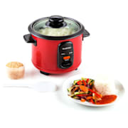 Osaka 0.6L Electric Rice Cooker 300w 0,6 Ltr / Red