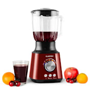 Herakles Standmixer 1000W 1,3 PS 1,5 Liter rot Green Smoothie Edelstahl Rot