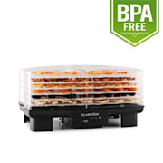 Bananarama Fruit Dryer Black 550W Dehydrator 6 Levels Black