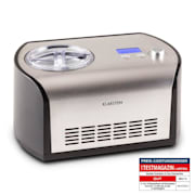 Snowberry & Choc Ice Cream Machine 1.2 litre stainless steel keep cool