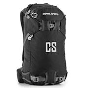 CS 30 Black Backpack Sports Leisure 30l Waterproof Nylon Black Black