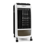 Caribbean Blue Air Cooler Fan Room Freshener 70W Black / White Black