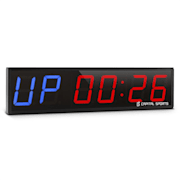 Timer 6, športové digitálne hodiny so stopkami a 6 číslicami V 2.0 / 6 číslic