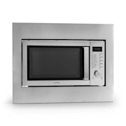 Steelwave Microwave 23L 800W / 1000W Grill Stainless Steel With frame