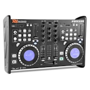 PDX125 Dual DJ Player Controller 2-Channel Mixer CD USB SD MP3