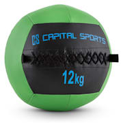 Wallba 12 Wall Medicine Ball 12kg Leatherette green 12 kg