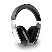 Elegance, bluetooth NFC slúchadlá, akumulátor, handsfree, syntetická koža, hliník, aptX Strieborná