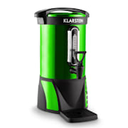 Bacchus Mulled Hot Drink Dispenser 6.8L 950W Stainless Steel Green Portable Green