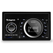 MD-210 BT RDS autoradio Bluetooth USB SD MP3 mikrofoni 2-DIN 4x75W