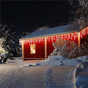 Dreamhouse Guirnalda luminosa 16m 320 LED blanco cálido Snow Motion
