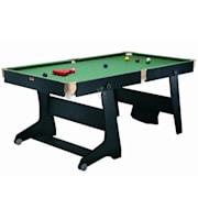 FS-6 TT-1, biliárdasztal deszkával asztaliteniszhez és dartshoz, összecsukható