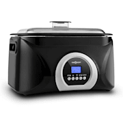 Sanssouci Sous-vide Slow Cooker 5L 300W Black / Silver